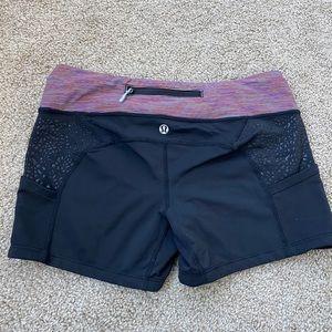Lululemon spandex shorts size 6